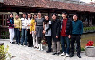 Our staff in Danang