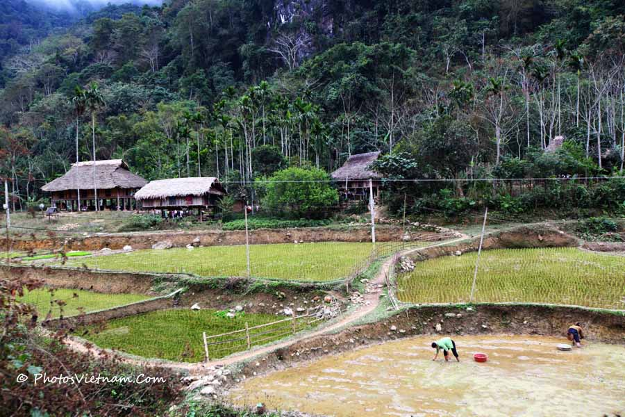 Pu Luong National Park Trekking 6days Biking Tours In